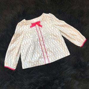 Janie and Jack Girls Long Sleeve Top Size 2T